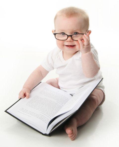 okuyan bebek