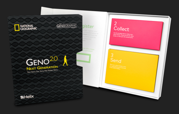 NG Geno 2.0 örnek toplama kiti