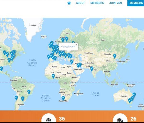 DSÖ Aşı Güvenliği Ağı Haritası