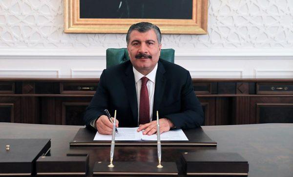 Sağlık Bakanı Uzm. Dr. Fahrettin KOCA