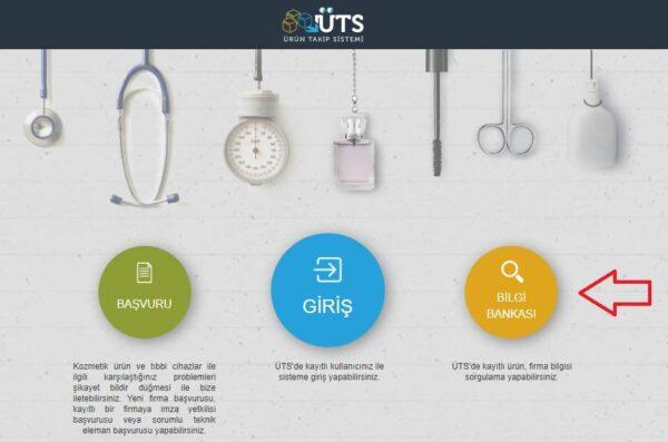 Ürün Takip Sistemi (ÜTS) - Ana Sayfa