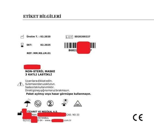 Ürün Takip Sistemi (ÜTS) - Ürün Sorgulama - Etiket Bilgileri