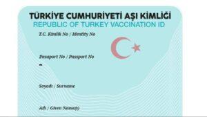 Türkiye Cumhuriyeti Aşı Kimliği