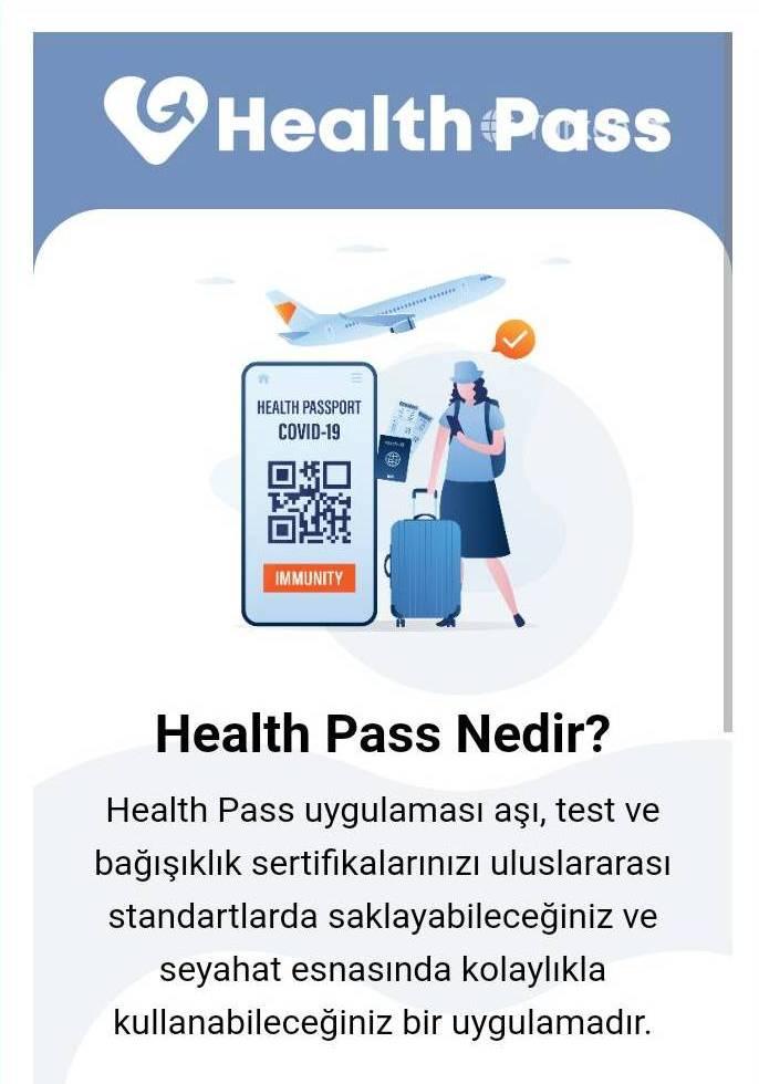 Avrupa Birliği uyumlu aşı pasaportu nedir- T.C. Sağlık Bakanlığı HealthPass Mobil Uygulaması nedir
