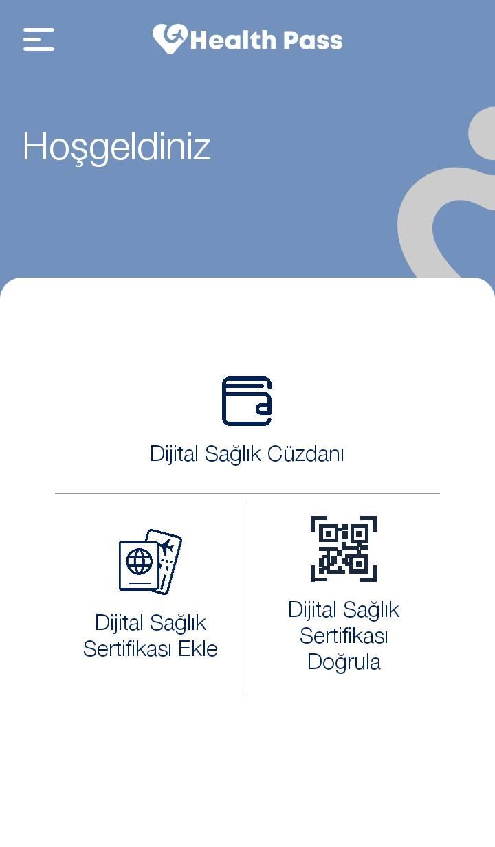 Dijital Sağlık Cüzdanlarında, Dijital Sağlık Sertifikaları saklanabilir ve doğrulanabilir